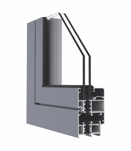 GR50系列隔热开平窗