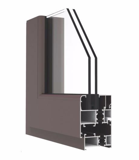 GR55EM系列隔热开平窗